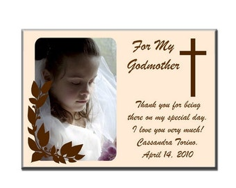 Personalized Thank You Art Panel with Cross