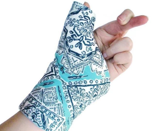 Featured listing image: Microwave Heat Pack Cold Wrap for Thumb Wrist, Texting Gaming Typing, Comfort Wrap, Personal Accessories for Her, Tech Lover Geekery Gift