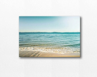 beach photography ocean canvas nautical decor 12x12 24x36 fine art photograph canvas print ocean gallery wrap large art coastal canvas wrap
