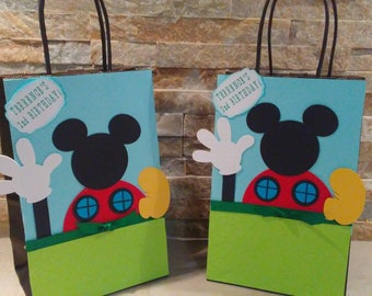 Mickey Mouse Club House  Goody Bags set of 12
