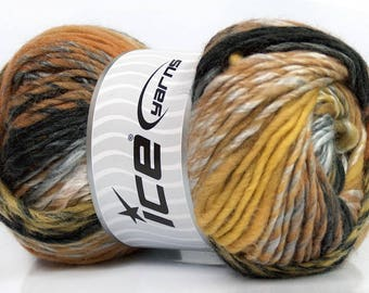 Harmony Wool Grey, Cream, Cafe Latte, Black