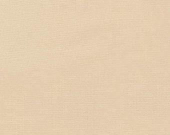 Champagne Kona Cotton, Robert Kaufman Fabrics, Half Yard
