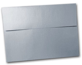 SM Metallic Silver A2 Envelopes - 25 pack