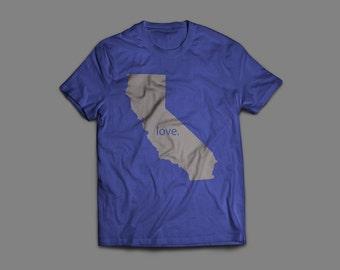 California Love T-Shirt -- #StateLoveT