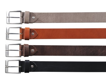 Leather Belt-wide