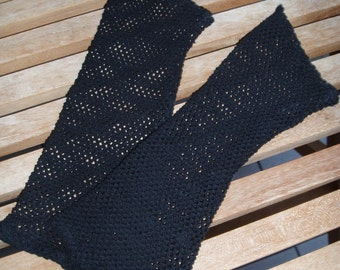 Arm warmers network.... Black (104)