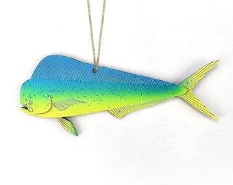 Dolphin Fish, Mahi Mahi, Dorado, Christmas Ornament