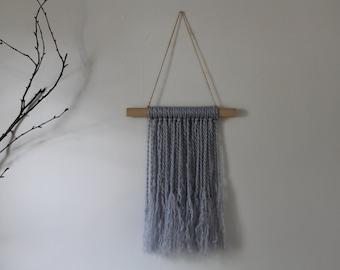 Yarn & Wood Wall Hanging