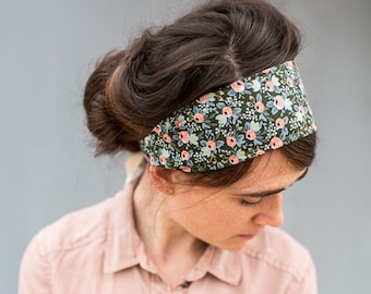 Rifle Paper Company Floral Headband Garlands of Grace headwrap Headcovering head hair headband covering