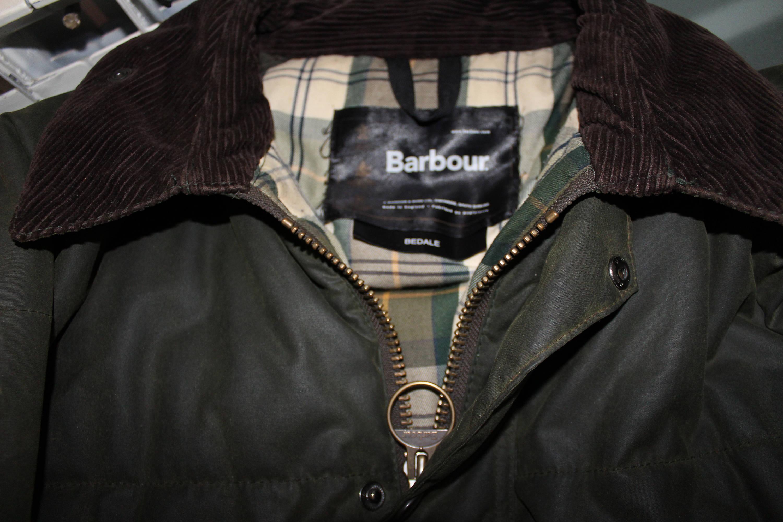 Barbour jacke 90er