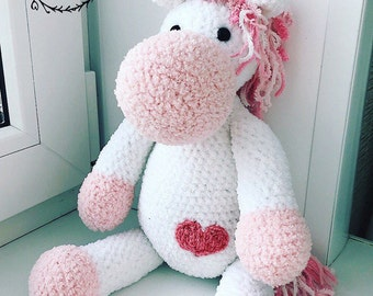 soft, gentle, cute unicorn,Amigurumi, crochet, gift, babytoy,idea for gift