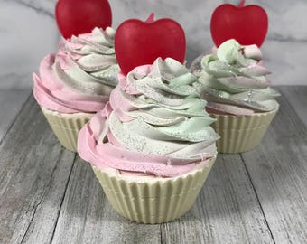 Sweet Apple Soap Cupcake | Bubbly Designs