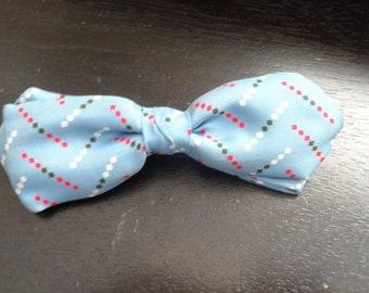 Vintage Crown Clip Bow Tie