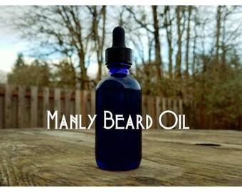 Manly Beard Oil