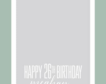Birthday Snapchat Filter, Happy Birthday Snapchat Geofilter, Simple Snapchat Filter, Shower Snapchat Filter, Custom Snapchat Filter
