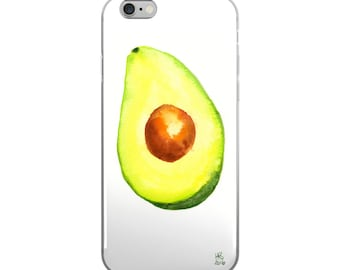 Avocado - iPhone 6/6s and iPhone 6 Plus/6s Plus Case - Phone case - electronic accessories - wearable art - cell phone case - Mother's Day