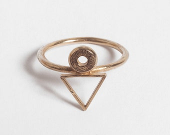 Bronze Peter Ring Size 6-8