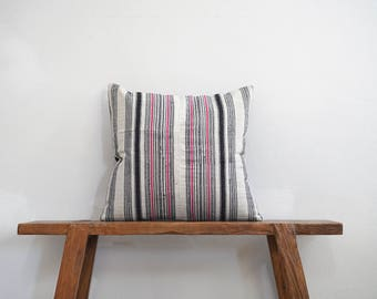 """20"""" by 20"""" Vintage Hemp Cushion Cover Hmong Hill Tribe Ethnic Thai"""