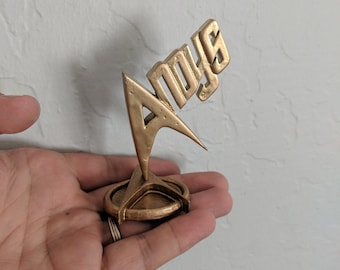 Andy's award from STTNC