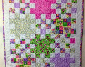 Baby Puzzle Patch Quilt