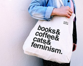 Books & Coffee | Tote Bag