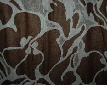 60's flower curtain, one piece