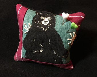 Black Bear Pincushion