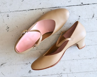 mary jane shoes / nude shoes / Mary Jane Heels