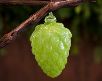 Glass Hop Ornaments