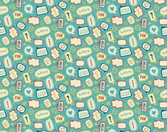 "Little Flyers  by Riley Blake  100% cotton Fabric by the YARD 36""x43"" (H162)"