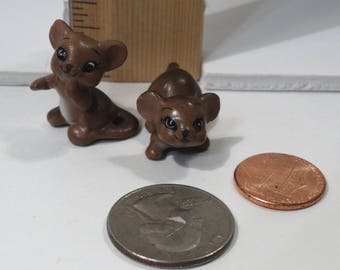 Vintage Miniature Mice - Josef Originals