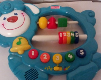 Fisher Price Baby Smartronics Sing n Count Sheep baby toy Musical Learning 71933