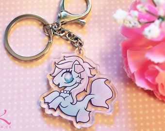 lovely hippocampus keychain