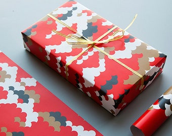 Koi Wrapping Paper,Wedding Gift Wrap,Birthday Wrapping Sheets,Holiday Gift Wrap
