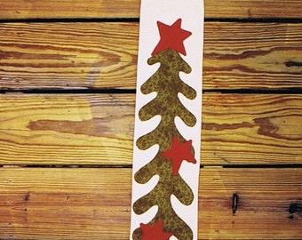 Long Tall Christmas Stocking PDF Pattern