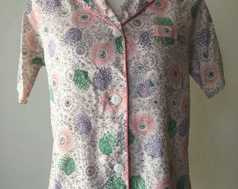 1950s Soft Nylon Pajama Set