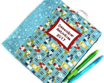 2017 Christmas Memory Book - December Day Journal - 25 days of Christmas - Picture a Day - Family Traditions - Daily December Journal - 2017