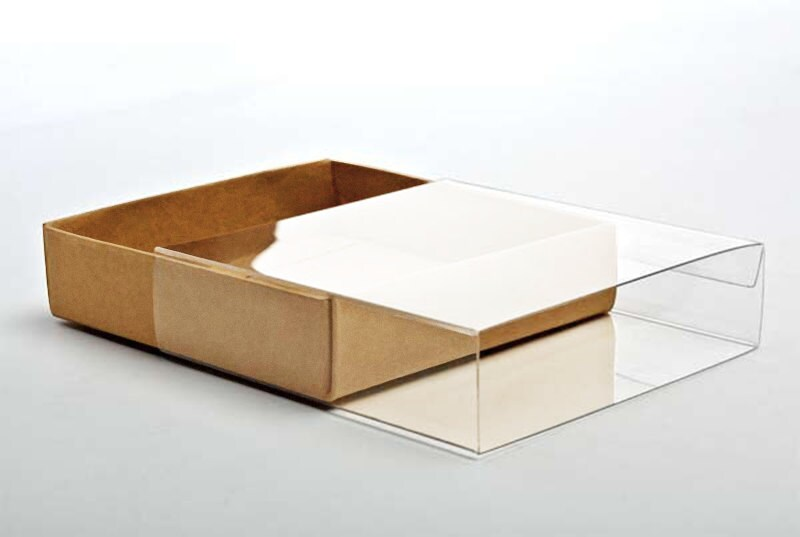 5 kraft paper box bases with clear sleeves a1 size 3 zoom m4hsunfo