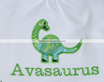 Personalized Dinosaur Shirt or Onesie