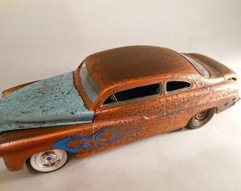 Rusty Rat Rod ,Mercury, Scale Model Car,Classicwrecks,Junker,OldSchool,Beater
