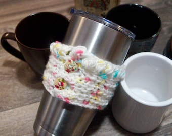 3 Birthday Cake Coffee Cozies