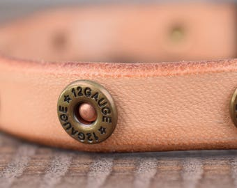 Purrfect Leather Cat Collar - 12 Gauge Rivets - Breakaway Safety Leather Cat Collar