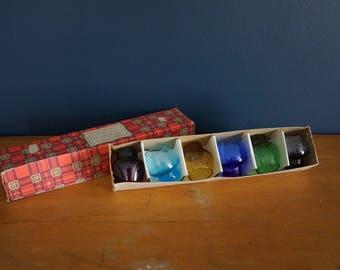 Rainbow Shot Glasses in the Original Packaging - 6
