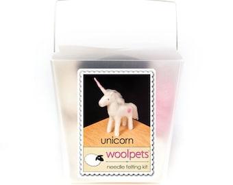 Unicorn Needle Felting Kit