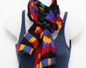 Vintage 1980s Vera scarf in wool