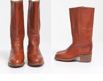 Vintage FRYE Campus Boots • Frye Campus Boots Mens 8D - Womens 9.5 Frye Campus