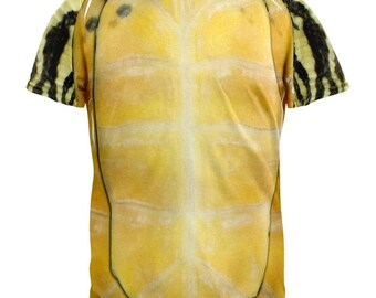 Halloween Turtle Costume All Over Adult T-Shirt