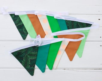 "Good Will Bunting ""Jungle"" Green Bunting"