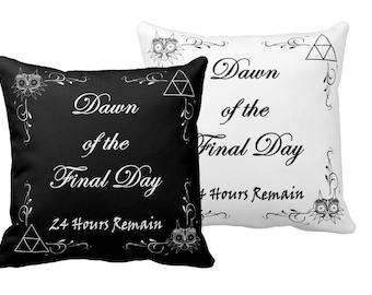 Dawn of the Final Day Pillow - Legend of Zelda Majora's Mask
