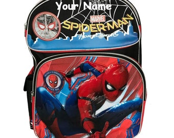 Spiderman book bag  b036e65fe4ef1